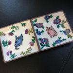猫の九谷焼・伊藤雅子さんのお皿新柄入荷(通販できます)