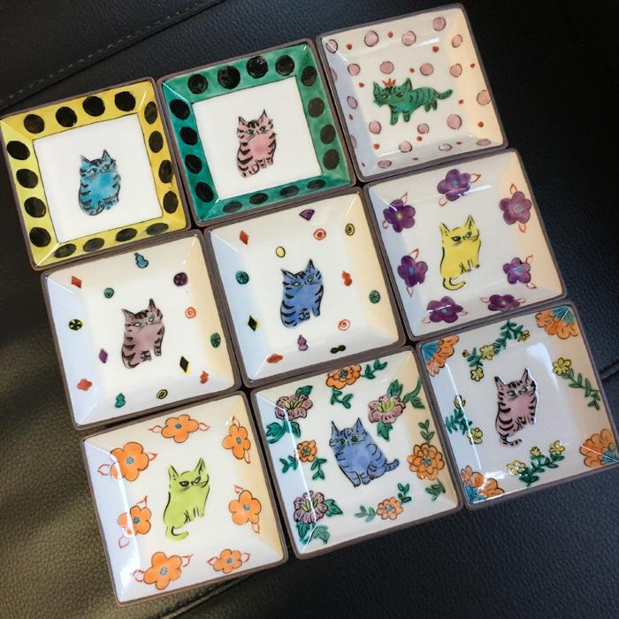 猫の九谷焼・伊藤雅子