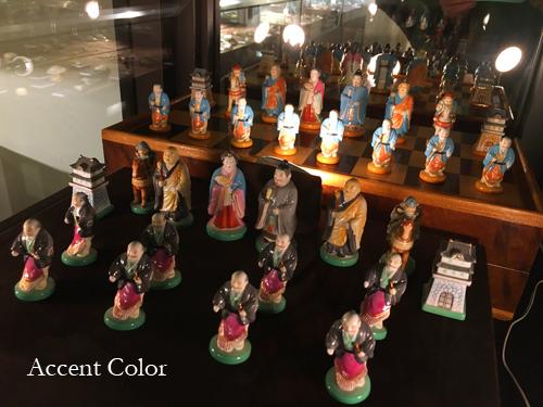 俊兼の陶器チェス